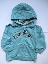Gymboree Rhino Cutie Blue TOUGH GUY Hoodie Zip Jacket Boys 18-24 months NEW NWT