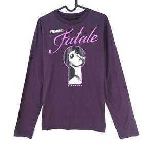 JOHN RICHMOND X Purple Crew Neck Jumper Sweater Size L