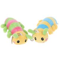 Mini Cute Colorful Soft Caterpillar Child Baby Toys Plush PendaSEATAU