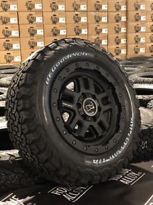 "17"" BLACK RHINO BARSTOW 5X120 VW T5 T6 CRAFTER MAN TGE 5X120 BFG ALL TERRAINS"