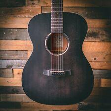 Tanglewood TWBB-OE Blackbird Folk Electro Acoustic Guitar - Smokestack Black Sat