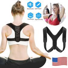 Adjustable Posture Corrector Back Shoulder Support Brace Belt Therapy Men Women