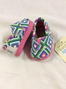 Toms Kids Shoes ,Tiny Classics Size 4, Aqua Village Geo