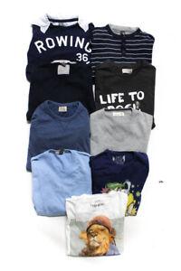 Zara Childrens Boys Sweaters Shirts Multi Colored Size 9-10 7/8 11/12 Lot 9