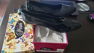 Pleaser Shoes Black Heels size 15