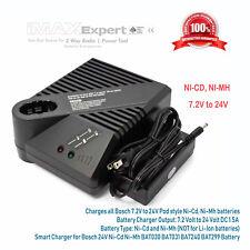 Smart Charger for Bosch 18V Ni-Cd Ni-Mh BAT180 BAT181 BAT025 BAT026 Battery