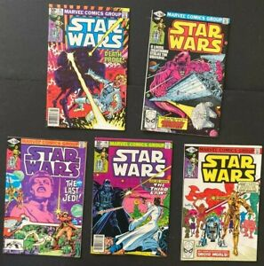 Star Wars 45,46,47,48,49(1977) Bronze Age VF/NM 9.0 First Post Empire Story