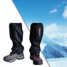 1 par Polainas Impermeable Leggings Gaiters para Nieve Senderismo Deporte