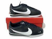 Nike Cortez Premium Men's Shoes Leather Black White 807480-004 ALL SIZES NWB