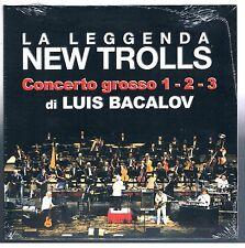 NEW TROLLS CONCERTO GROSSO 1-2-3 DI L.BACALOV CD F.C. SIGILLATO!!!