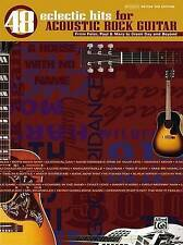 48 Eclectic Hits for Acoustic Rock Guitar: From Peter, Paul  by Alfred Pub - PB