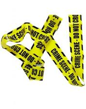 23FT CRIME SCENE BARRICADE DO NOT CROSS YELLOW PARTY TAPE DECORATION 51895