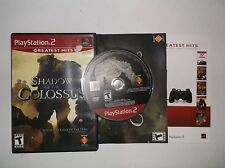 Shadow of the Colossus (Sony PlayStation, PS2, 2006) COMPLETE w/ Manual