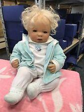 Inge tenbusch Porzellan Puppe 55 cm. Top Zustand