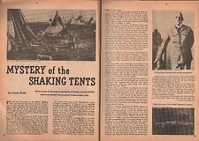 Mystery of the Shaking Tents of the Indian Medicine Men+Sir Cecil Denny*,Fafard