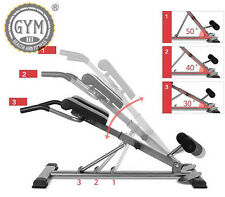 Pro Home Fitness Workout Roman Chair Hyperextension Back Extension Bench