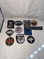 Huge lot of 11 metal patches Judas Priest obituary wolf venom inc cathedral etc.