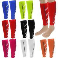 Calf Compression Sleeve Leg Support Socks Guard Running Athletic Shin Splint