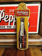 Dr Pepper Thermometer Sign NOS soda COCA COLA PEPSI 7UP ORANGE CRUSH ROYAL CROWN