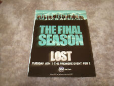 LOST The Final Season and Emmy ad with cast, Hurley, Claire, Michael, Jin, Sun