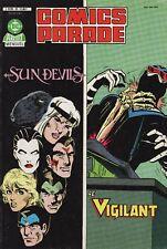Comics Parade N°10 - DC Comics - Eds. Arédit - 1986