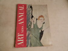 1951 ART NEWS ANNUAL XX GOYA TOULOUSE-LAUTREC INTRO TO ABSTRACT  ART IN SILK