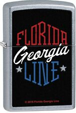Zippo Florida Georgia Line Country Music Street Chrome Windproof Lighter 29053