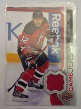 2014-15 UD Game Jersey Damien Brunner New Jersey Devils GJ-DA