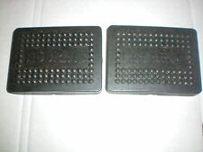 "Clutch or Brake Pedal rubbers to fit over 3""  x  2 3/16"" Pedals"