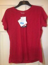 Mountain Warehouse Agra Womens Tee T Shirt Red Isocool Fuschia UK 18