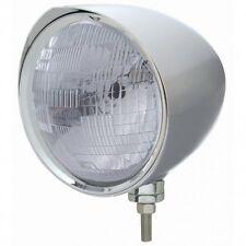 "UNITED PACIFIC 32532 - ""CHOPPER"" Headlight w/ Razor Visor - H6024 Bulb"