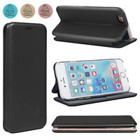Leather Wallet Flip Card Holder Cover Case For iPhone SE, Samsung, Huawei, Nokia
