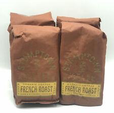 4 Stumptown Coffee Whole Bean French Roast 12oz. BB 8/20 B4