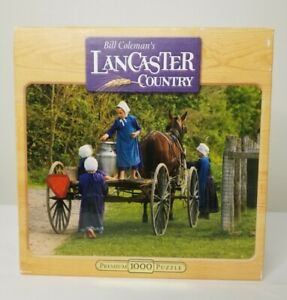 Bill Coleman's Lancaster Country Milk 'n Cookies 1000 Piece Jigsaw Puzzle New