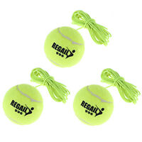 3 x Totem Tennis Ball Replacement Backyard Trainer Spare Elastic String Training