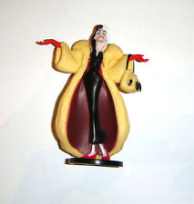 Disney Mini Doll Sized Cruella De Vil 4 Inch Figures For Diorama dn1