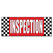 Inspection Auto Body Shop Car Repair Banner Sign 2 ft x 4 ft /w 4 Grommets