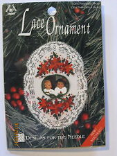 Lace Ornament cross stitch kit--Picture frame--Poinsettia