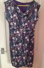 Et-Vous Dress (12) Mauve/green/white floral (Belt lost)