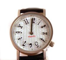 El reloj de relatividad einsteinian-Big Bang Theory