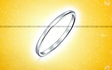 Silver Plain 925 Purity Thin Sterling Band Handmade Ring UK Size A 1/2