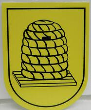 "Deko-Bienenkorb Rütli /""Medi/"" ca.22x17cm Imker,Imkerei,Bienen,Beehive"