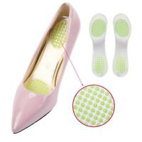 Shoes Pads Cushion Gel Heel Cup Insoles Massages Inserts Heel Pain Silicone BEST