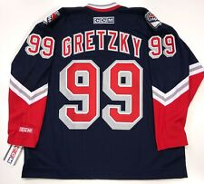 "WAYNE GRETZKY CCM REPLICA NEW YORK RANGERS ""LIBERTY"" JERSEY XXL NEW WITH TAGS"