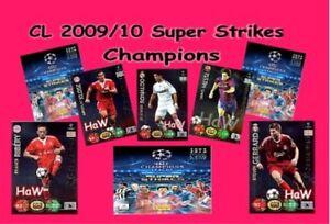 Panini Champions League Super Strikes 2009/2010 - Champions - mint