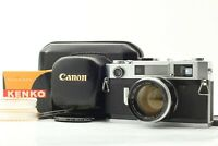 【NEAR MINT+++ w/ Case】 Canon 7S 35mm Rangefinder Camera 50mm F/1.4 Lens JAPAN