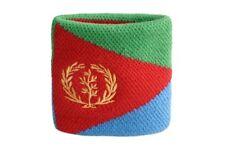 Schweißband Fahne Flagge Eritrea 7x8cm Armband für Sport