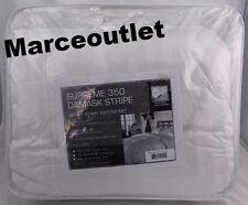 Blue Ridge Supreme 350 Thread Count Damask Stripe KING Down Comforter