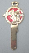 Vintage Mercury Messenger Logo Yellow Gold NOS Ignition Key 1952 - 1958