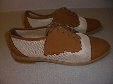 F-TROUPE Leather and Mesh Oxford Men's Shoes Size 7/39 EURO